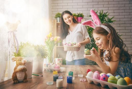 10 ways to Celebrate Easter at home