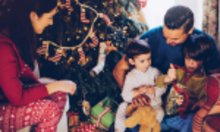 Christmas is only days away but for many young families, Christmas is a financial and emotional strain with the pressure to spend money they don´t have.